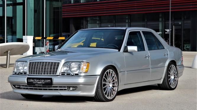«Заряженный» седан Mercedes-Benz E 60 AMG (W124) выставлен на продажу