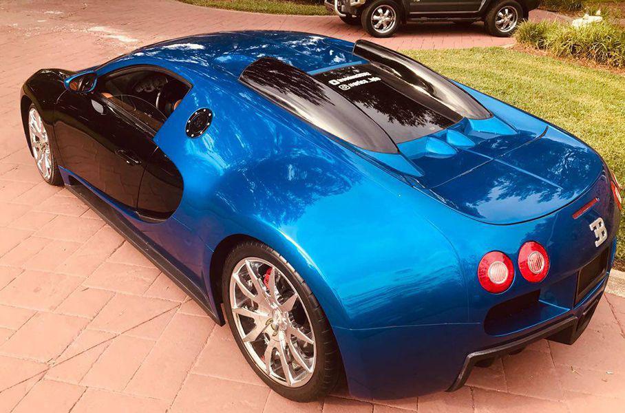Копию Bugatti Veyron выставили на продажу в 20 раз дешевле оригинала