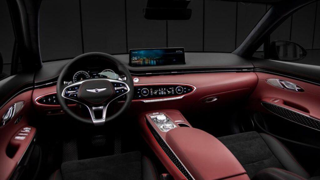 Автопроизводитель Genesis представил новый кроссовер GV70