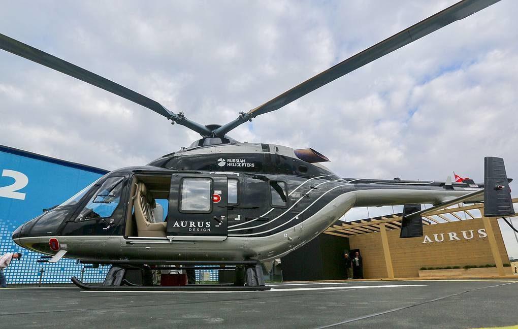 Вертолеты Aurus прошли сертификацию