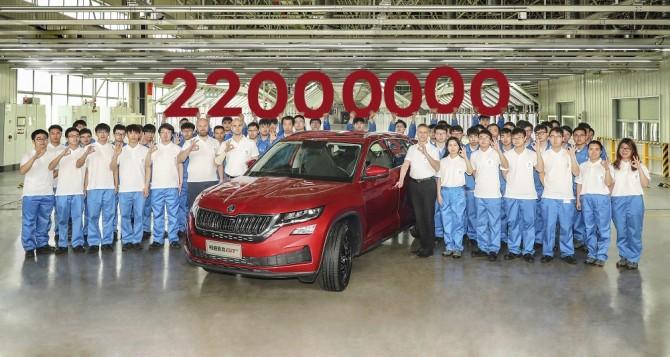 Компания Skoda выпустила уже 22 млн автомобилей