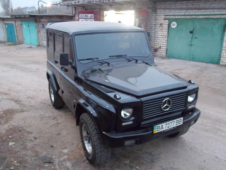 Житель Украины превратил внедорожник УАЗ-31514 в «Гелендваген»