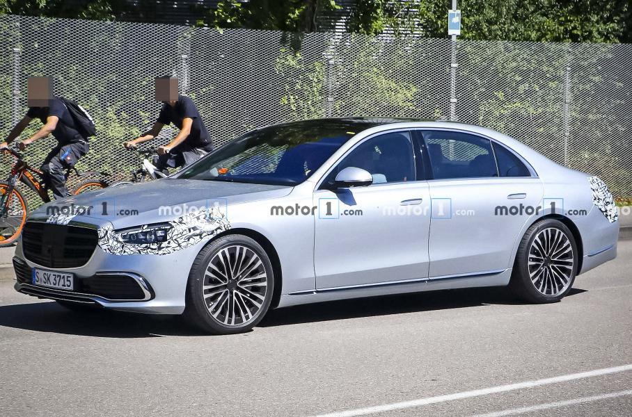 Mercedes-Benz полностью рассекретил внешность нового S-Class