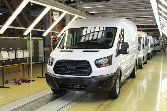 В России начали выпускать обновлённый Ford Transit