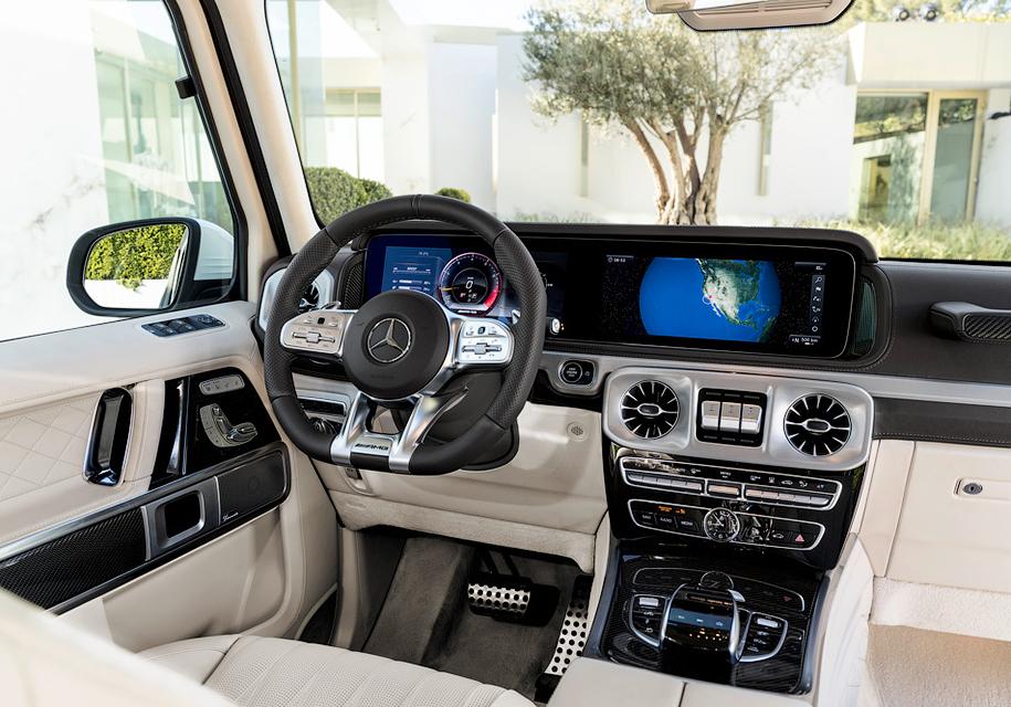 Новый 585-сильный внедорожник AMG G 63 представила Mercedes-Benz
