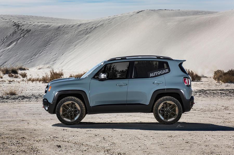 В Jeep подтвердили выпуск самого маленького кроссовера в 2022 году