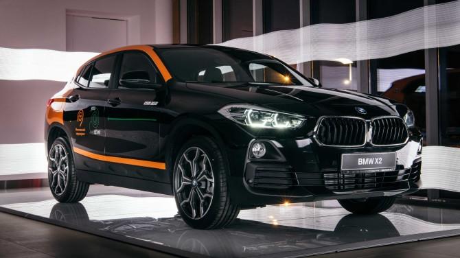 Новый кроссовер BMW X2 пополнил каршеринговый парк YouDrive