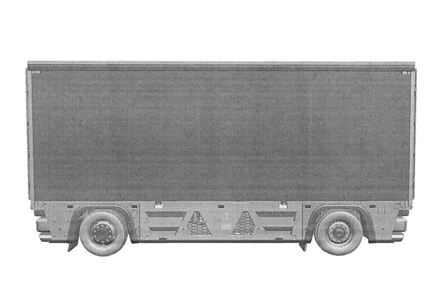 «КамАЗ» запатентовал электрический грузовик без кабины