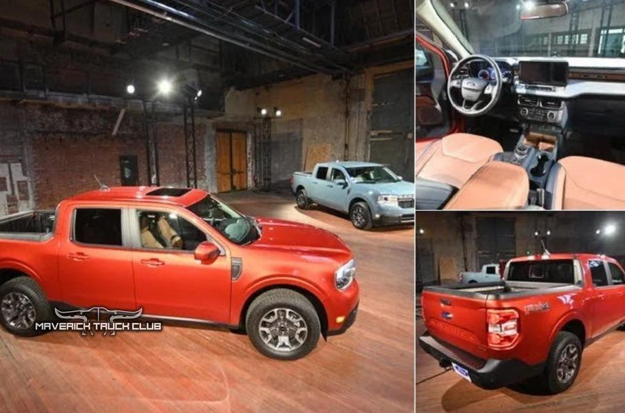 Ford представит 8 июня недорогой компактный пикап Maverick 2022 года