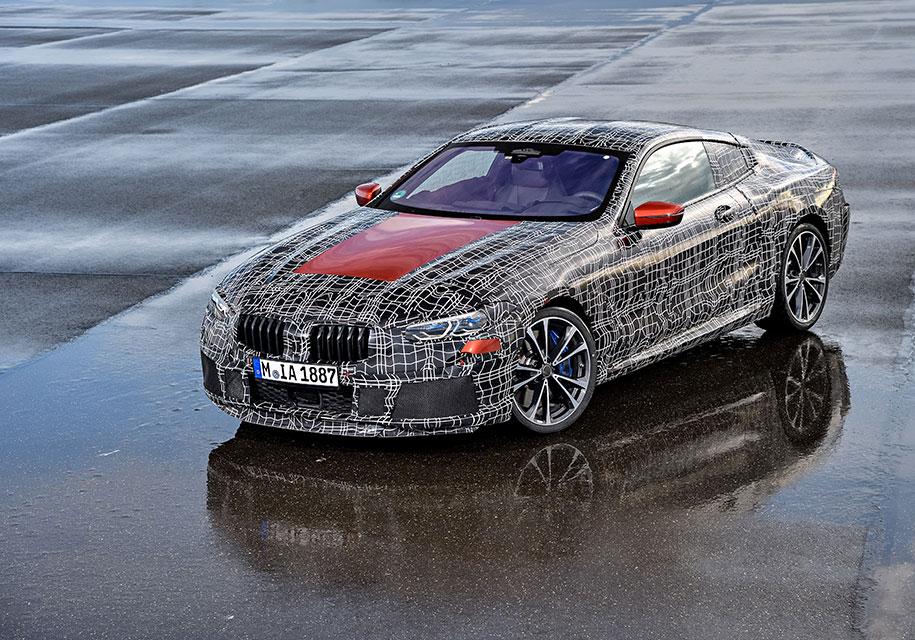 Представлен официальный тизер флагманского купе BMW 8-Series