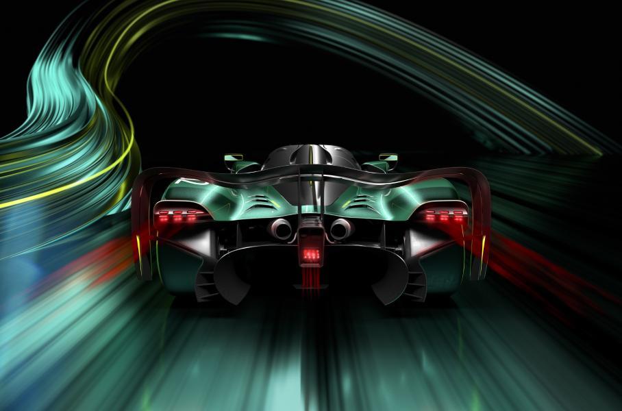 Aston Martin представил трековый гиперкар Valkyrie AMR Pro с ДВС на 1000 л.с