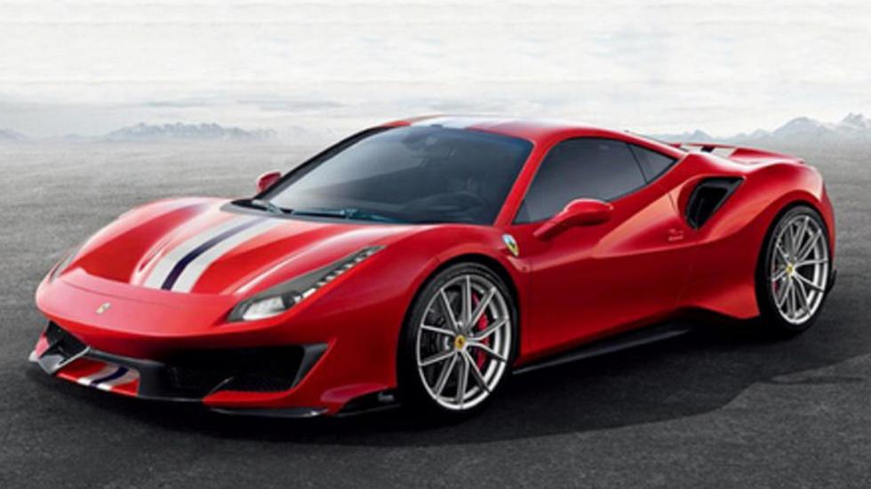 У спорткара Ferrari 488 GTB появится хардкорная версия Pista
