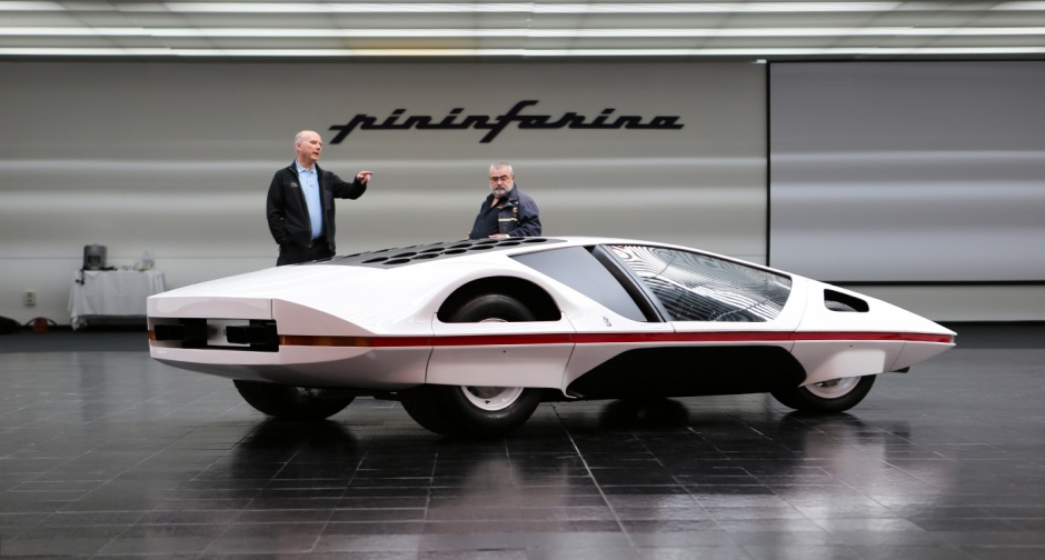 Уникальный 48-летний прототип модели Ferrari 512S Modulo смог поехать