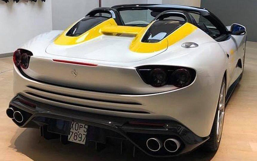 В компании Ferrari создали уникальный спайдер Ferrari SP3JC