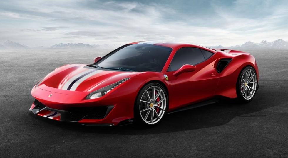 Самый мощный суперкар Ferrari с мотором V8 представили официально