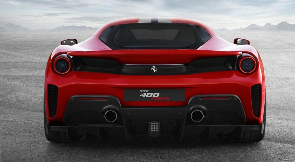 Ferrari показала новый суперкар Ferrari 488 Pista на первом видео