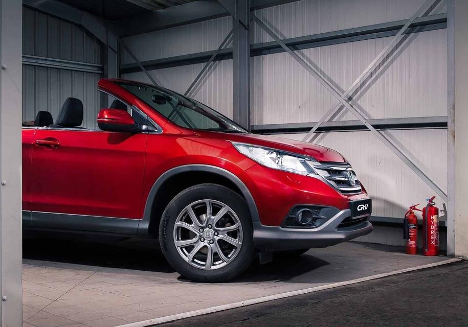 Honda представила неуправляемый кабриолет на базе Honda CR-V