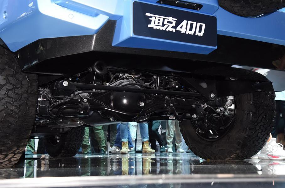 Китайская Great Wall показала рамный внедорожник Tank 400 на мотор-шоу в Чэнду