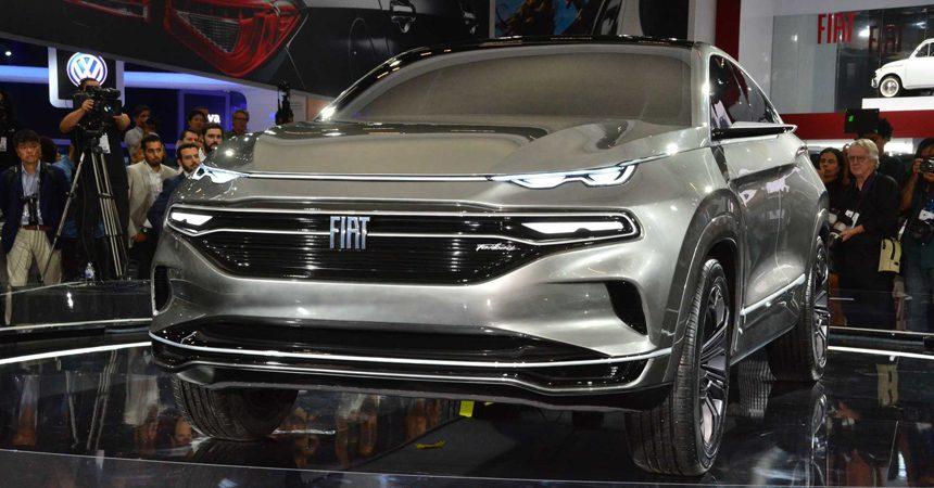 Fiat выпустит новый трехрядный кросс на базе пикапа Fiat Toro
