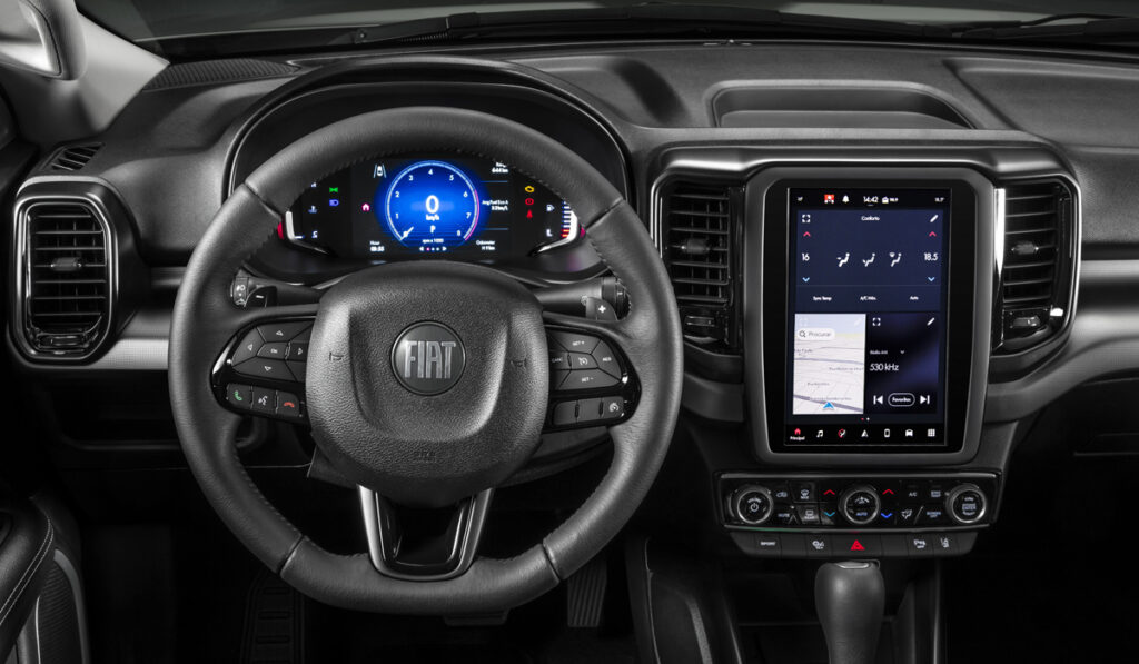 Fiat представил пикап Fiat Toro 2022 года на базе платформы Jeep Compass