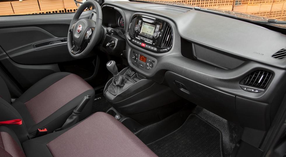В России начались продажи обновленного фургона Fiat Doblo