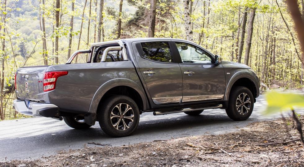 Стартовали российские продажи обновленного пикапа Fiat Fullback