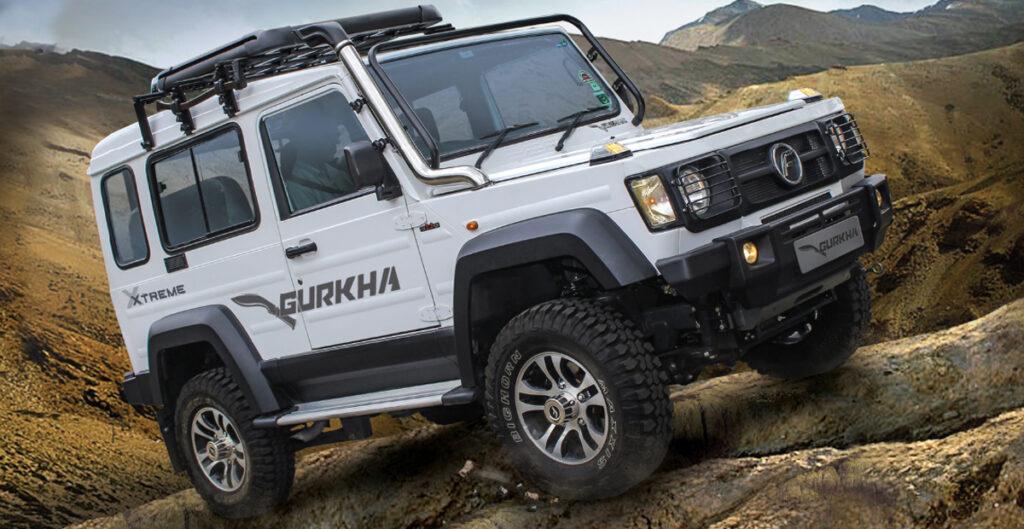 Внедорожник Force Gurkha получил новую версию Gurkha Xtreme