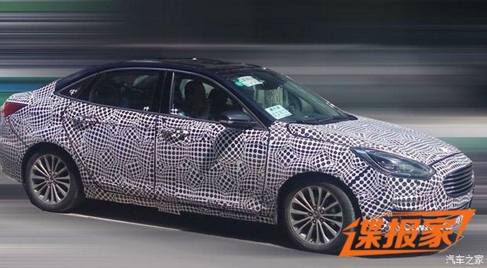 Ford готовит к премьере популярный обновлённый седан Escort