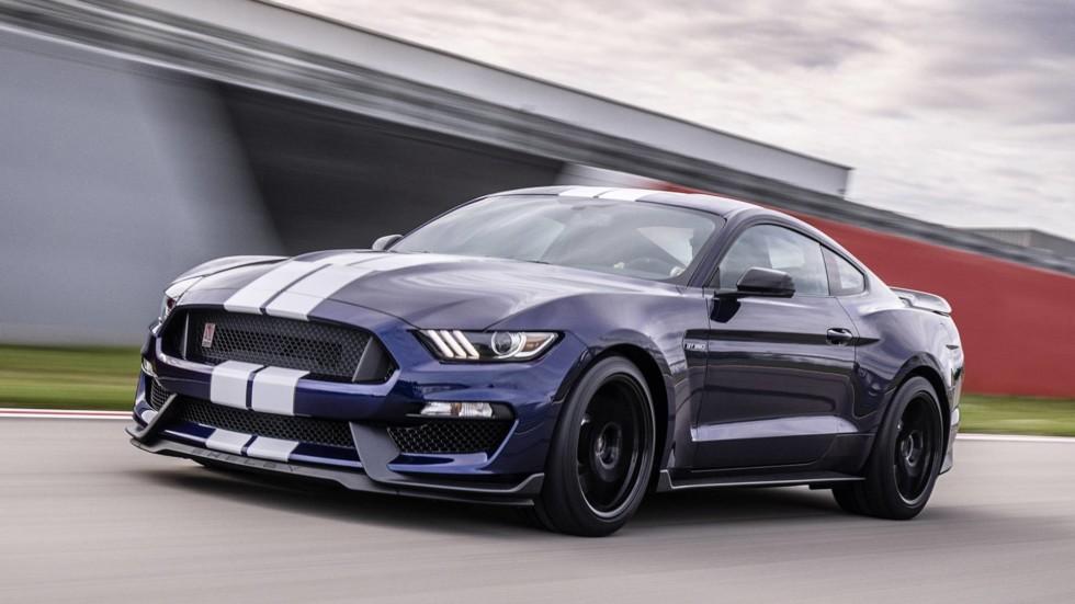 Официально представлен обновленный Ford Mustang Shelby GT350