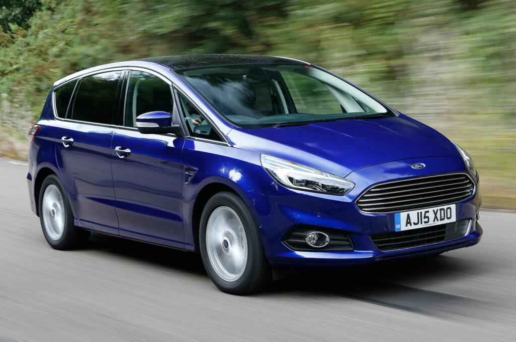 Обновленные Ford S-Max и Ford Galaxy получили новые двигатели