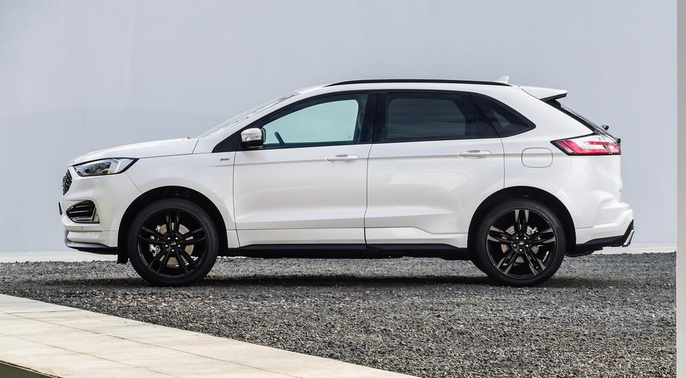 Ford представила европейскую версию обновленного кроссовера Edge