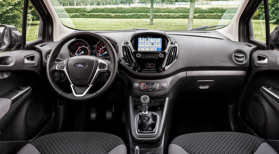 Компания Ford представила обновленные Transit Courier и Transit Connect