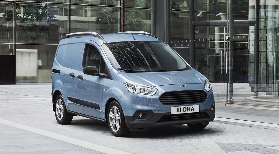 Форд официально представил рестайлинговые модели Transit Courier иTourneo Courier