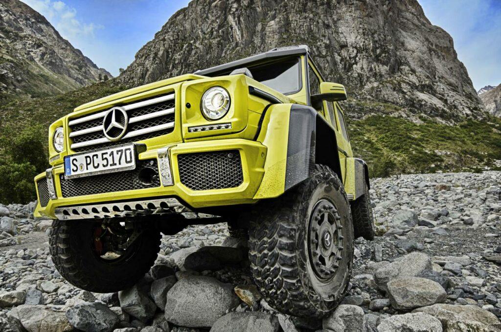 Mercedes прекращает выпуск внедорожника Mercedes G500 4×4²
