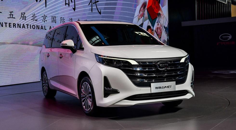 GAC представила встолице Китая компактвэн Trumpchi GM6