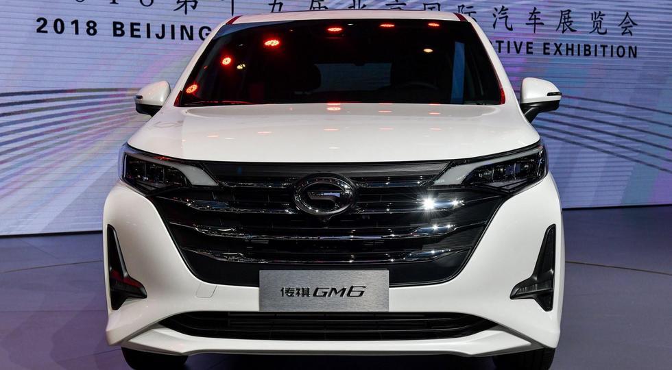 Китайская компания GAC презентовала компактвэн Trumpchi GM6
