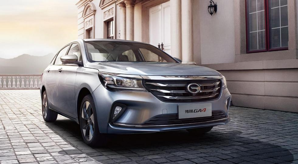 В Китае стартовали продажи нового седана GAC Trumpchi GA4