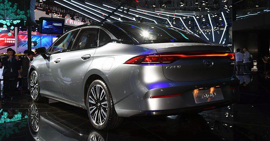 Новый седан GAC Aion S получит четвертый уровень автопилота