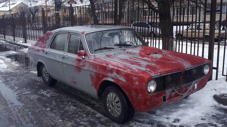 Безумный ГАЗ: Умелец из Брянска создал устрашающий «ГАЗ-24»
