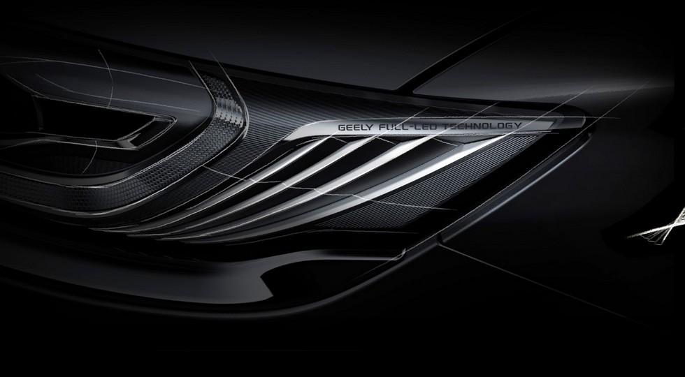 Geely опубликовала тизеры спортивной версии седана Geely Emgrand GT