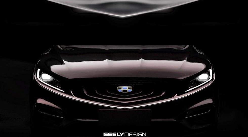 Появились первые фото спортивной версии фастбека Geely Emgrand GT