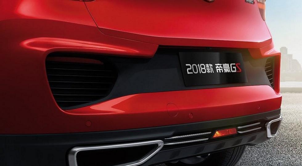 Geely рассекретила обновленный кроссовер Geely Emgrand GS