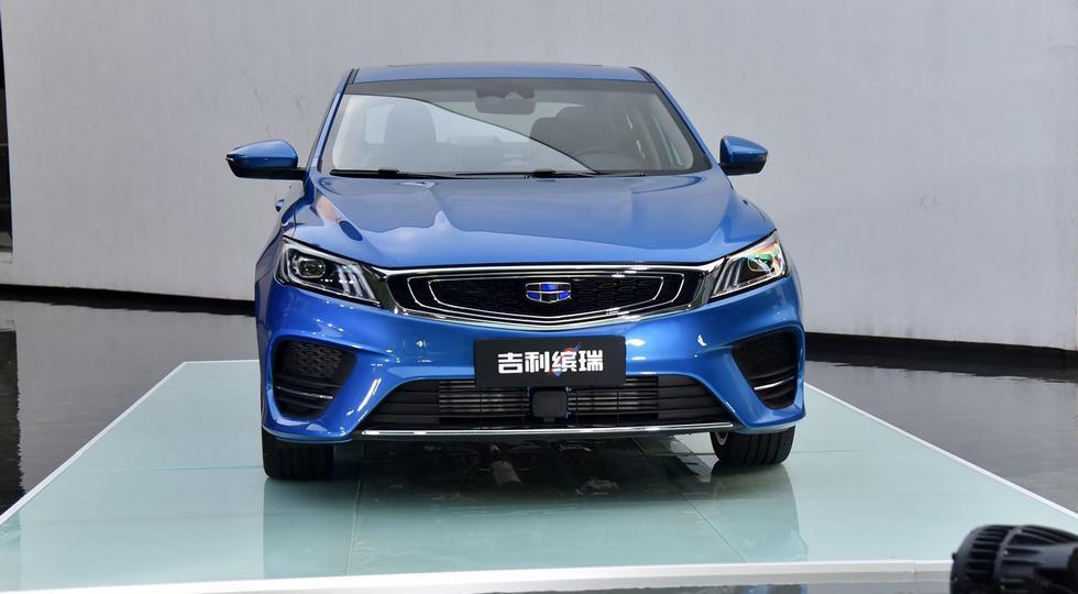 Geely представила новый купеобразный седан Geely SL
