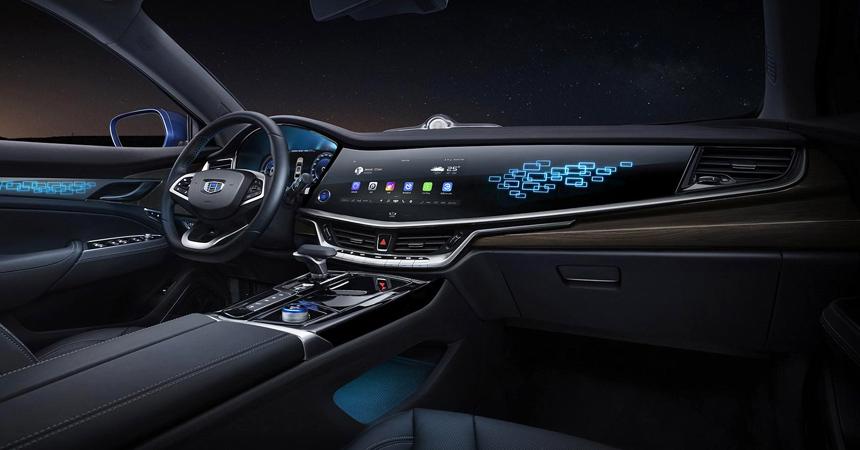 Geely представила роскошный гибридный седан Geely Emgrand GT