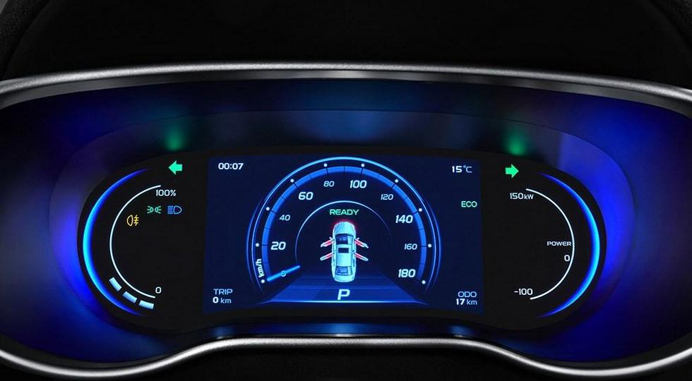 Обновленный Geely Emgrand 7 получил новую версию EV450