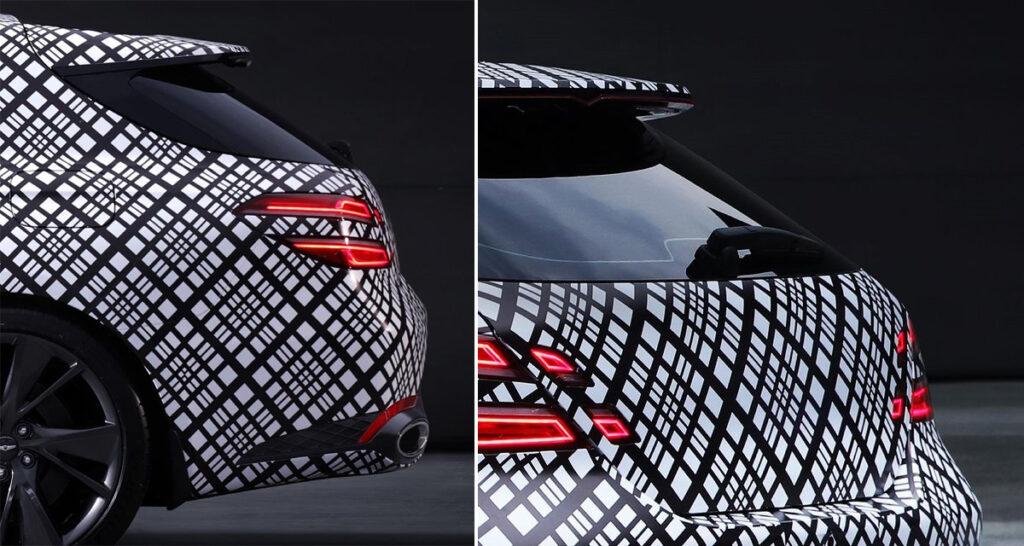 Опубликованы первые изображения универсала модели Genesis G70