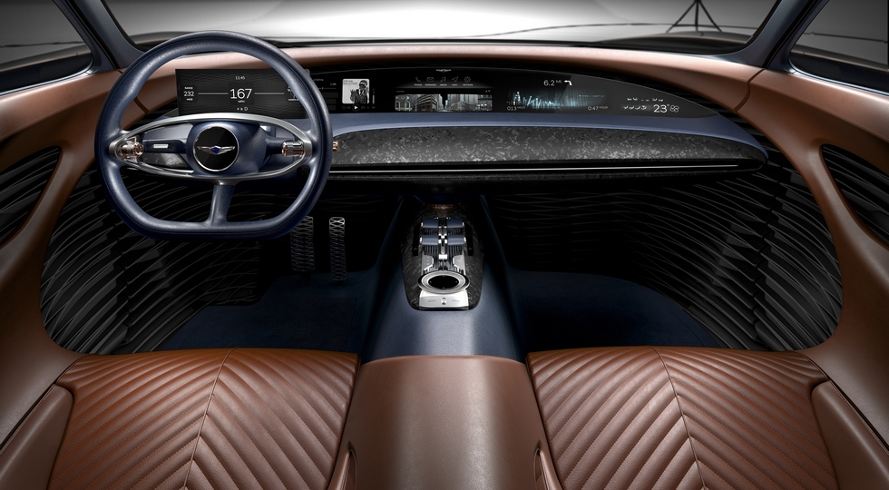 Genesis в Нью-Йорке представила концепт купе Essentia