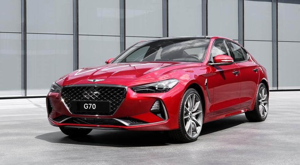 Названы российские цены на новый роскошный седан Genesis G70