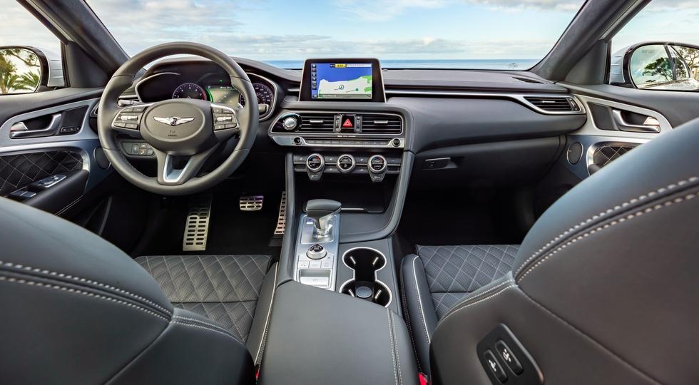 В Нью-Йорке состоялась презентация седана Genesis G70