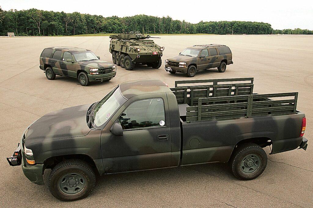 General Motors собирается вернуться к производству военной техники